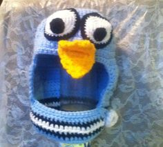 Mo+Willems+Pigeon+crochet+hat+by+AJcrochetfun+on+Etsy