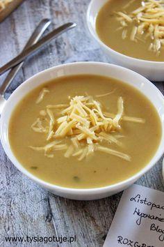 Zupa cebulowa z grzankami serowymi | Tysia Gotuje blog kulinarny Thai Red Curry, Food To Make, Ethnic Recipes, Blog, Food Ideas, Kitchens, Blogging