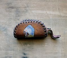 Vintage Leather Change Purse