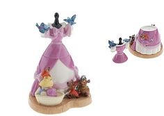 CINDERELLA'S DRESS SALT AND PEPPER SHAKERS