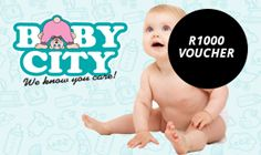 Win Baby City vouchers worth R 1000!