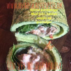 Spinat – Pandekage – Ægge Wrap.