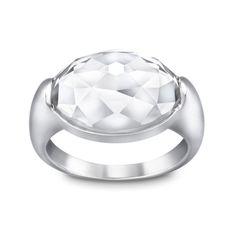 Swarovski Oval Ring | Veloce Jewelry www.velocejewelry.com