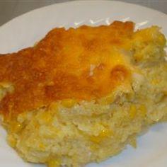 Cheesy Corn Casserole Allrecipes.com