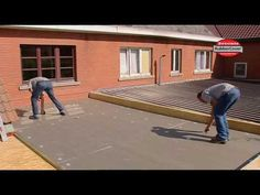 Waterproofing a Flat Roof with Firestone EPDM Rubber Roof Membrane - YouTube