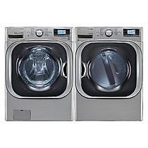 LG 5.2 cu. ft. Mega Capacity Turbowash™ Washer & Dryer Bundle