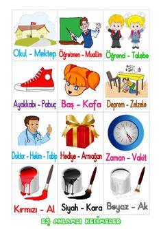 Kara Kara, Turkish Lessons, Learn Turkish Language, Foreign Languages, Interactive Notebooks, First Grade, School Projects, Literacy, Homeschool