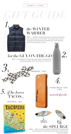 #giftguide for him 2015 #Christmas #wintertime