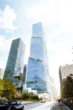 BIG propõe torre espiral próximo ao High Line,© Tishman Speyer