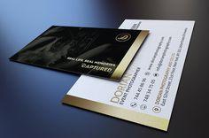 Elegant Business Card by Marvel on @creativemarket
