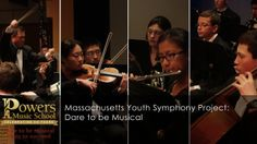 MYSP - Dare to be Musical. The Massachusetts Youth Symphony Project: Dare to be Musical Conductor, George Ogata Powers Music School Excerpts...