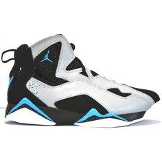 Amazon.com: Jordan True Flight (Black/Dark Powder Blue-Wlf Grey-White)... ($110) ❤ liked on Polyvore