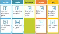 How to Create a Social Media Posting Schedule | Constant Contact Blogs