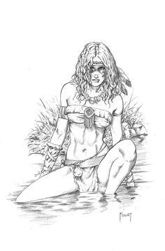 Tribal Princess by MitchFoust