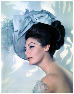 Ava Gardner photographed by George Hoyningen-Huene for MGM, 1963.r