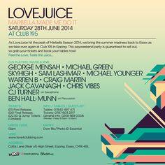 Marbella Summer 2014: Love Juice 2014  http://marbs2014.blogspot.co.uk/2014/05/love-juice-2014.html