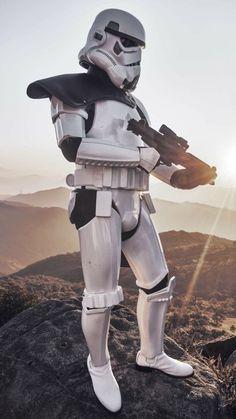 Star Trek, Leia Star Wars, Star Wars Art, Stormtrooper Art, Imperial Stormtrooper, Star Wars Pictures, Star Wars Images, Stargate, The Trooper