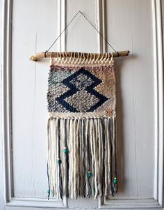 Woven Wall Art affiliate pin saved from etsy uk weaving woven wall hanging