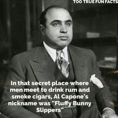 It's better than scarface.  #alcapone #cigar #cigars #rum #fluffybunnyslippers #fluffy #bunny #slippers #comedy #tbt #photooftheday #instadaily #funny #funnypic #funnymeme #funnypics #funnypost #memes #memesdaily #picsoftheday #humor #parody #trivia #facts #funfacts #funnypictures #tootruefunfacts