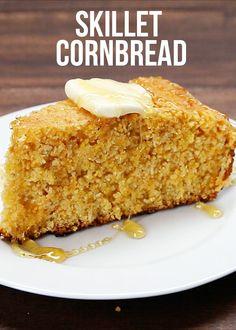 Cheddar Cornbread You Can Make In A Skillet