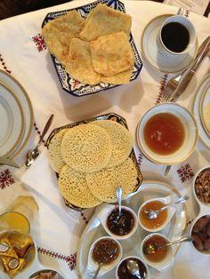 Breakfast in Rabat Morocco