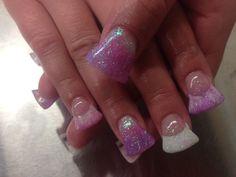Ombré Flared Gel Nails