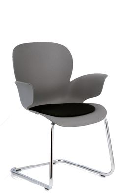 A favourite for Health, Leisure and Education- Koehl Seating Calixo chair. Grey shell with metallic fleck.