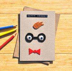 Wizard of oz birthday card greeting card australian birthday nerd birthday card geeky greeting card happy nerday cute bookmarktalkfo Gallery