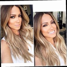 42.20$ Buy now - http://alivw7.worldwells.pw/go.php?t=32746868221 - Top quality ombre blonde wigs Synthetic Lace Front wig lace wig wave glueless lace front wigs for black women