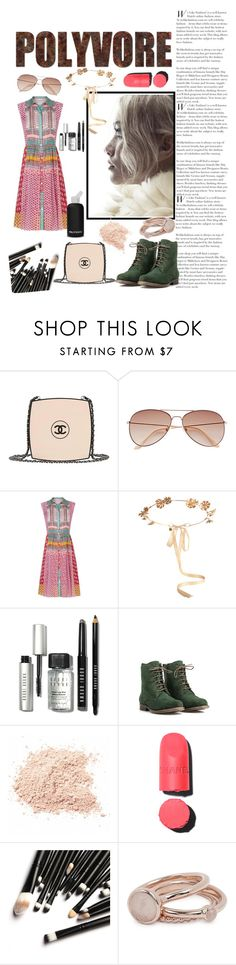 """#ContestOnTheGo #ContestEntry"" by veliskovat on Polyvore featuring Chanel, H&M, Diane Von Furstenberg, Eugenia Kim, bkr, Bobbi Brown Cosmetics, JJ Footwear, Lola Rose, contestentry and ContestOnTheGo"