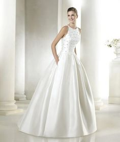 Los 50 vestidos de novia más bonitos de esta temporada ¡Todos te encantarán! Image: 45