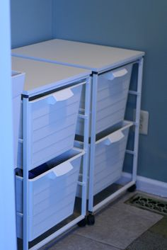 dirty laundry sorting at its finest with the ikea algot system office storage pinterest. Black Bedroom Furniture Sets. Home Design Ideas