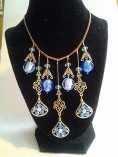 Blue Elegance Necklace $30.00