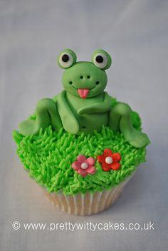 frog cupcakes | Frog cupcake | Flickr - Photo Sharing!