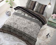 Orientálne posteľné obliečky MOSAIC Taupe, Comforters, Mosaic, Blanket, Vintage, Furniture, Home Decor, Website, Shop