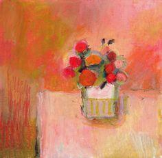 Petit bouquet en rose. Benedicte Garnier Fihey