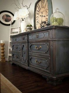 Ideas for china hutch decor