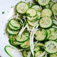 Japanese Cucumber Salad | Cookbook Recipes
