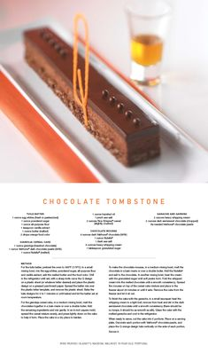 Treat yourself to #dessert with this #Chocolate Tombstone #recipe!
