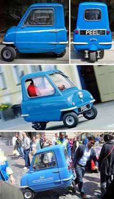 The Peel P50 - the world's smallest street-legal production car