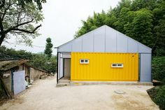 Low-Cost Container House by JYA-RRCHITECTS (via Lunchbox Architect