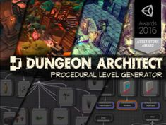Use the Dungeon Architect from Code Respawn on your next project. Find this utility tool & more on the Unity Asset Store. Unity Games, Unity 3d, Unity Tutorials, Texas Education, Game Assets, Indie Games, Game Design, Asset Store