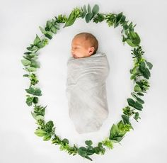 Little Willow Loves... cute newborn photo ideas. Don't you love the trend for all things natural and boho including flower crowns and wreaths.. and what better way to show off your tiny bundle than framed like this. . We have loads of similar photo ideas collected on our pinterest boards so be sure to check them out for some inspiration. . #littlewillowvintageloves #newborn #newbornphotography #photoinspiration #bohobaby #greenery #wreath #flowerwreath #flowercrown