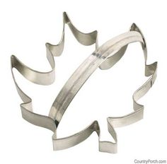 Maple Leaf Cookie Cutter - Symbolic of New England's fabulous fall this maple leaf shaped tin cookie cutter is perfect for making yummy cookies for your next harvest party.