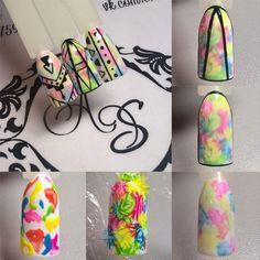 68 ideas for fails art diy sharpie Nail Art Diy, Cool Nail Art, Diy Nails, Cute Nails, Pretty Nails, Diy Art, Nail Art Abstrait, Nail Techniques, Gel Nagel Design
