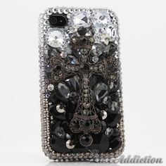 "Style 432 This Bling case can be handcrafted for iPhone 4/4S, 5, 5S, and 5C. The current price is $79.95 (Enter discount code: ""facebook102"" for an additional 10% off during checkout) *Click image for direct link"