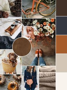 September's mood board and it has me feeling all the feels for fall! Shades of neutrals, navy and orange boards orange September Mood Board - Kara Layne & Co. Website Design Inspiration, Autumn Inspiration, Color Inspiration, Moodboard Inspiration, Tableaux D'inspiration, Mood And Tone, Colour Board, Looks Style, My New Room
