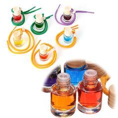 Prima Aroma Botellas de Perfume Del Coche Ambientador de Aire de Una Variedad De Aroma Fragancia de Aceite de la Decoración Del Coche/Decoración Del Hogar
