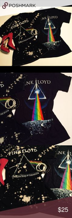 Pink Floyd Tee Shirts S Two Pink Floyd T-shirts S Great shape Pink Floyd Music Ltd Tops Tees - Short Sleeve