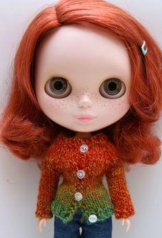 red hair #blythe #doll
